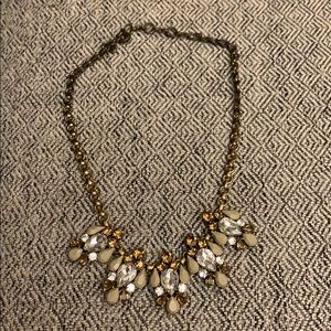 Jcrew Neutral Color Statement Necklace